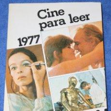 Libros de segunda mano: CINE PARA LEER 1977 - EDITORIAL MENSAJERO (1978). Lote 197883012
