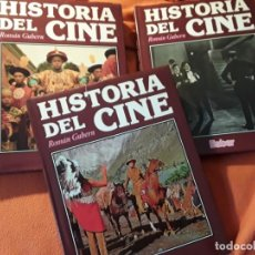 Libros de segunda mano: HISTORIA DEL CINE, DE RAMON GUBERN (3 VOL). BABER, 1988. GRAN FORMATO. EXCELENTE ESTADO. Lote 199209425
