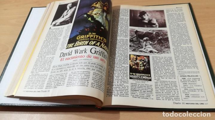 Libros de segunda mano: HISTORIA DEL CINE - DIARIO 16 - PRIMER TOMO A - I - ESTRELLAS PELICULAS CREADORES - ENCUADERNQ-104 - Foto 12 - 199677522