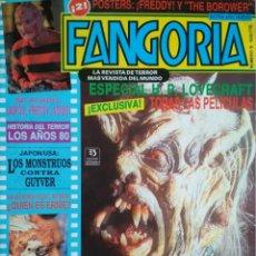 Libros de segunda mano: REVISTA FANGORIA N°5 ENERO 1991. Lote 199816971