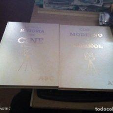 Libros de segunda mano: 2 VOLUMENES DEL CINE: CINE MODERNO Y ESPÑOL Y HISTORIA DEL CINE DE TERENCI MOIX DE ABC. Lote 200127505
