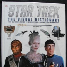 Libros de segunda mano: STAR TREK THE VISUAL DICITIONARY - PAUL RUDITIS - 2014 - EN INGLES -. Lote 200763711