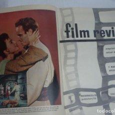 Libros de segunda mano: FILM REVIEW. MAURICE SPEED 1960-1961, VER FOTOS. Lote 200786490