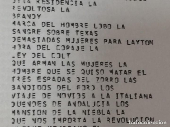 Libros de segunda mano: MINISTERIO INFORMACION TURISMO BOLETIN INFORMATIVO CONTROL TAQUILLA 3 trimestre 1974 madrid nº 67 - Foto 5 - 202261590