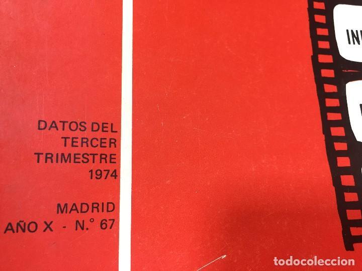 Libros de segunda mano: MINISTERIO INFORMACION TURISMO BOLETIN INFORMATIVO CONTROL TAQUILLA 3 trimestre 1974 madrid nº 67 - Foto 9 - 202261590