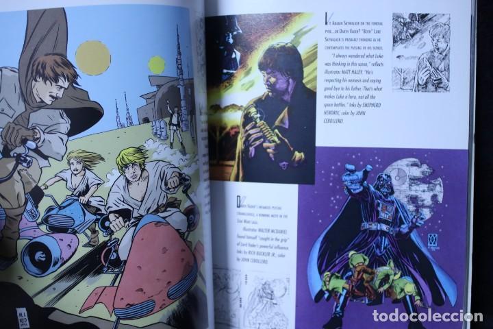 Libros de segunda mano: the art of star wars el arte de star wars tomo 2 libro de ilustraciones dibujos de la saga clasica - Foto 7 - 203003746