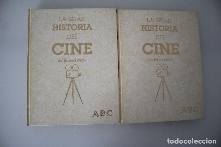 LA GRAN HISTORIA DEL CINE TERENCI MOIX ABC 2 TOMOS DE 3 (Libros de Segunda Mano - Bellas artes, ocio y coleccionismo - Cine)