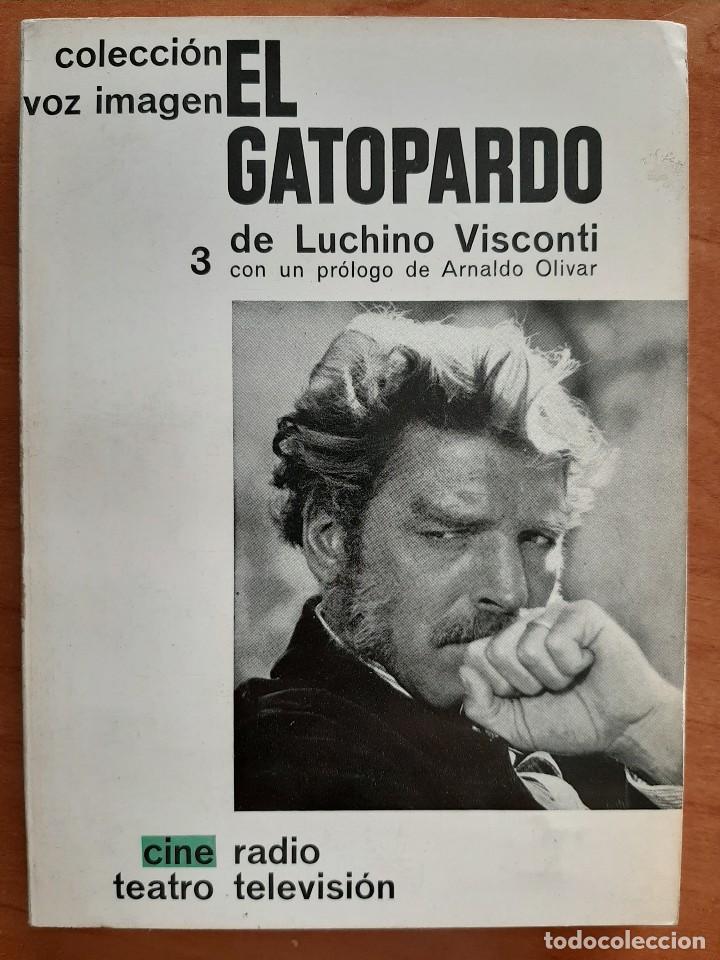 1963 EL GATOPARDO DE LUCHINO VISCONTI (Libros de Segunda Mano - Bellas artes, ocio y coleccionismo - Cine)