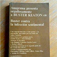 Libros de segunda mano: BUSTER KEATON CONTRA LA INFECCION SENTIMENTAL · ANAGRAMA, 1972 · SERIE DIRIGIDA POR JOAQUÍN JORDÁ. Lote 205121190