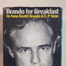 Libros de segunda mano: BRANDO FOR BREAKFAST BY ANNA KASHFI BRANDO & E. P. STEIN · 1979 · MARLON BRANDO. Lote 205122002
