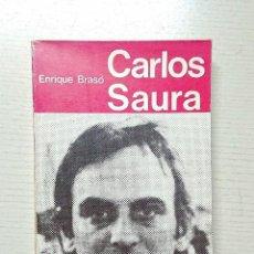 Libros de segunda mano: CARLOS SAURA · ENRIQUE BRASÓ · TALLER EDICIONES JB, 1974. Lote 205122411