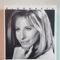 Libros de segunda mano: BARBRA STREISAND · POR JAMES SPADA · 1995 PRIMER PLANO-EDICIONES B. Lote 205123088