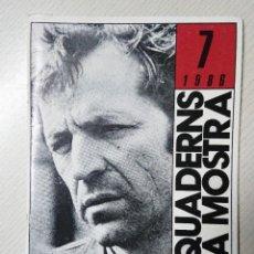 Livros em segunda mão: COSTA GAVRAS · ELS QUADERNS DE LA MOSTRA 7 · 1986 · EN CASTELLANO. Lote 205129817