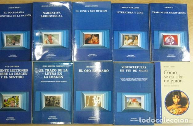 Libros de segunda mano: lote 32 libros editorial catedra signo e imagen cine guion montaje doblaje produccion - dificiles - Foto 2 - 205568435