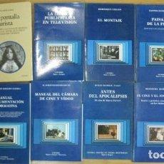 Libros de segunda mano: LOTE 32 LIBROS EDITORIAL CATEDRA SIGNO E IMAGEN CINE GUION MONTAJE DOBLAJE PRODUCCION - DIFICILES. Lote 205568435