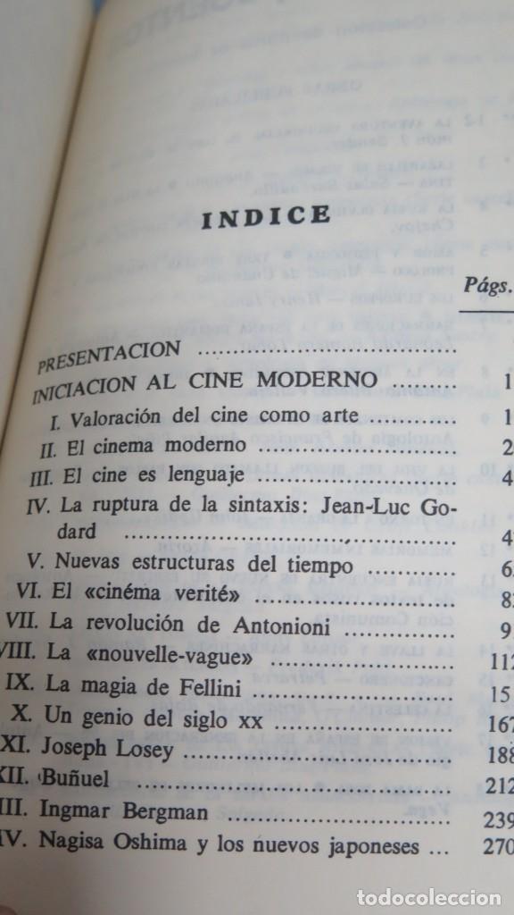 Libros de segunda mano: INICIACION AL CINE MODERNO. ALFONSO SANCHEZ. 2 TOMOS - Foto 2 - 205596146