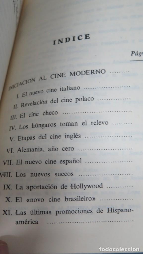 Libros de segunda mano: INICIACION AL CINE MODERNO. ALFONSO SANCHEZ. 2 TOMOS - Foto 3 - 205596146