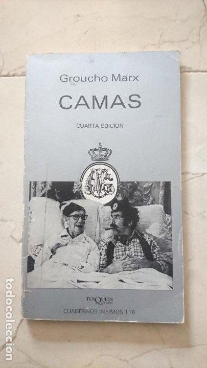 CAMAS, DE GROUCHO MARX (Libros de Segunda Mano - Bellas artes, ocio y coleccionismo - Cine)
