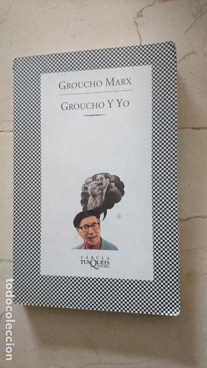 GROUCHO Y YO - GROUCHO MARX (Libros de Segunda Mano - Bellas artes, ocio y coleccionismo - Cine)