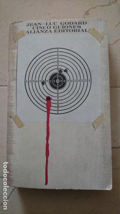 CINCO GUIONES DE JEAN-LUC GODARD (Libros de Segunda Mano - Bellas artes, ocio y coleccionismo - Cine)