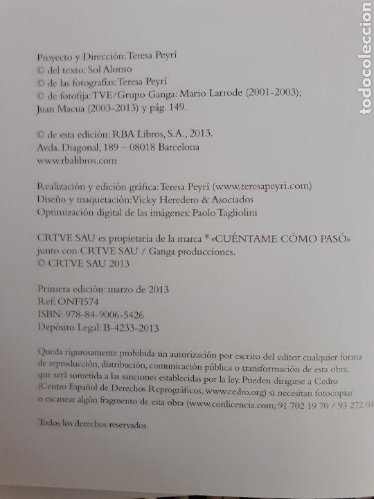 Libros de segunda mano: Cuéntame, ficción y realidad - Sol Alonso / Teresa Peyrí - Foto 4 - 206312210