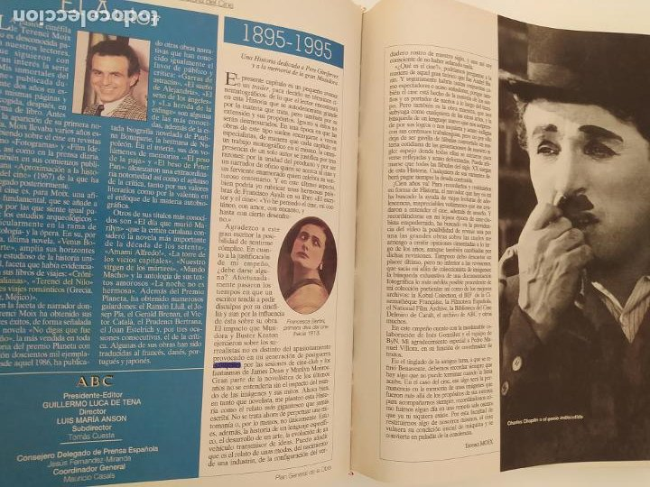 Libros de segunda mano: LA GRAN HISTORIA DEL CINE DE TERENCI MOIX. ABC. BLANCO Y NEGRO. TOMO 1. VER FOTOGRAFÍAS ADJUNTAS. - Foto 8 - 206322856