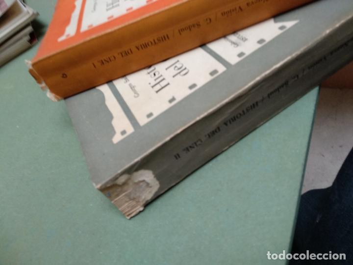 Libros de segunda mano: HISTORIA DEL CINE I Y II DESDE LOS ORIGENES A NUESTROS DIAS GEORGES SADOUL - Foto 2 - 206826295