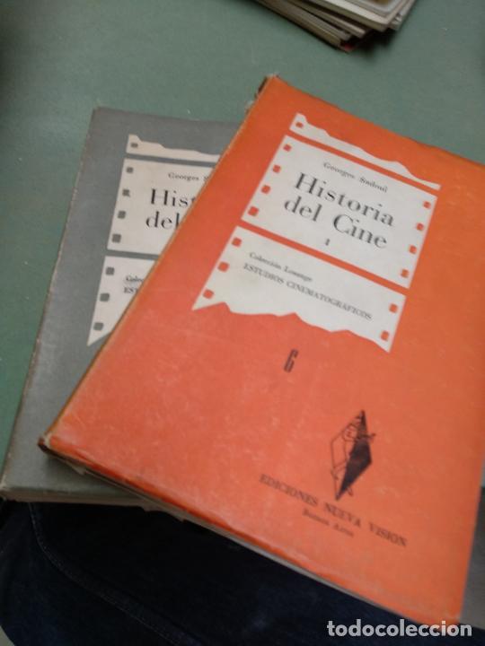 HISTORIA DEL CINE I Y II DESDE LOS ORIGENES A NUESTROS DIAS GEORGES SADOUL (Libros de Segunda Mano - Bellas artes, ocio y coleccionismo - Cine)