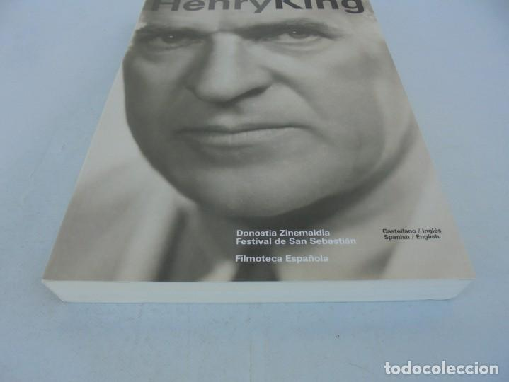 Libros de segunda mano: HENRY KING. EDICION BILINGÜE CASTELLANO/INGLES. FESTIVAL DE SAN SEBASTIAN. FILMOTECA ESPAÑOLA. 2007 - Foto 3 - 207211020