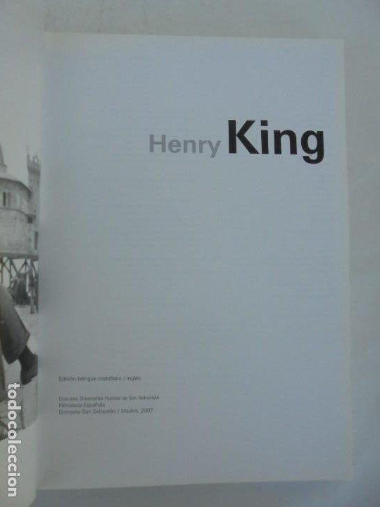 Libros de segunda mano: HENRY KING. EDICION BILINGÜE CASTELLANO/INGLES. FESTIVAL DE SAN SEBASTIAN. FILMOTECA ESPAÑOLA. 2007 - Foto 7 - 207211020