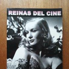 Libros de segunda mano: REINAS DEL CINE IMAGENES DE GLAMOUR, JOSE LUIS MENA, ARKADIN EDICIONES, CACITEL, 2009. Lote 208171695