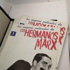 Libros de segunda mano: LAS MEJORES PELÍCULAS DE LOS HERMANOS MARX. Lote 208156405