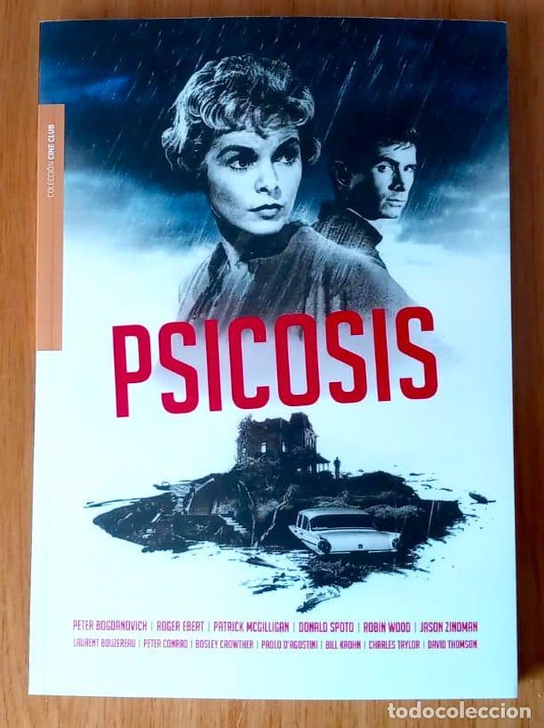 PSICOSIS (P BOGDANOVICH, D SPOTO ET AL)- ED CULT BOOKS 2020 - RÚSTICA CON SOLAPAS 222 PAGS (Libros de Segunda Mano - Bellas artes, ocio y coleccionismo - Cine)