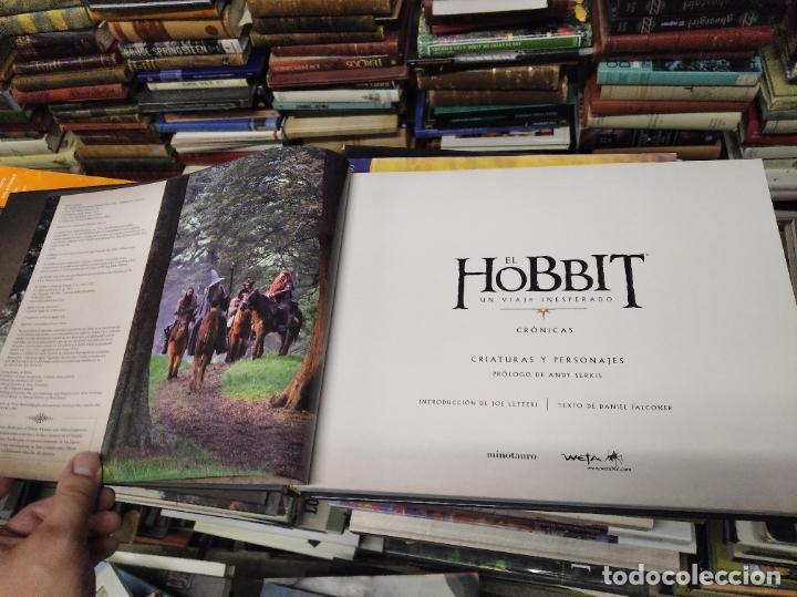 Libros de segunda mano: COLECCIÓN COMPLETA EL HOBBIT . CRÓNICAS . 6 TOMOS + MAPS OF TOLKIENS + EL MUNDO DE TOLKIEN - Foto 8 - 210151335