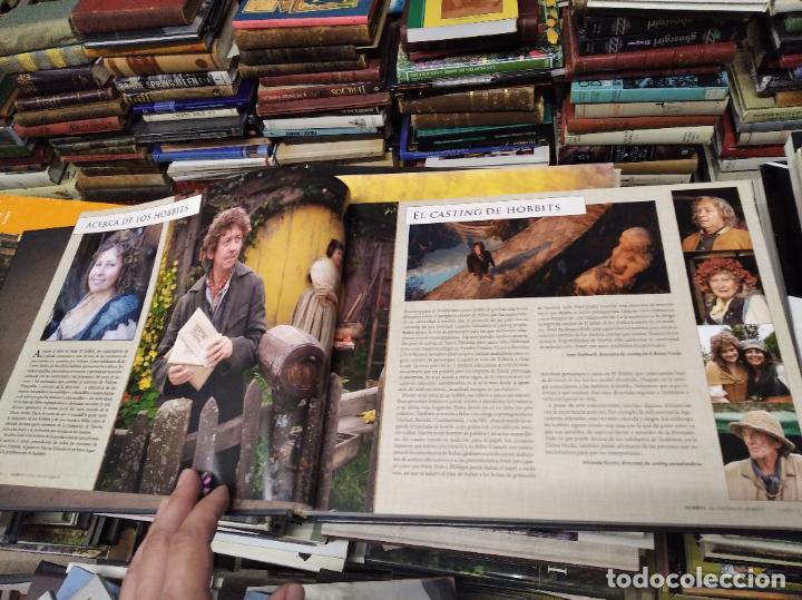 Libros de segunda mano: COLECCIÓN COMPLETA EL HOBBIT . CRÓNICAS . 6 TOMOS + MAPS OF TOLKIENS + EL MUNDO DE TOLKIEN - Foto 12 - 210151335