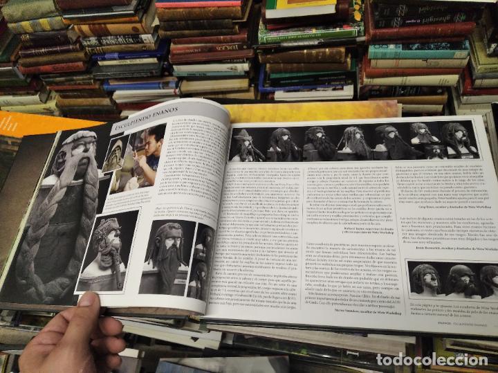 Libros de segunda mano: COLECCIÓN COMPLETA EL HOBBIT . CRÓNICAS . 6 TOMOS + MAPS OF TOLKIENS + EL MUNDO DE TOLKIEN - Foto 14 - 210151335