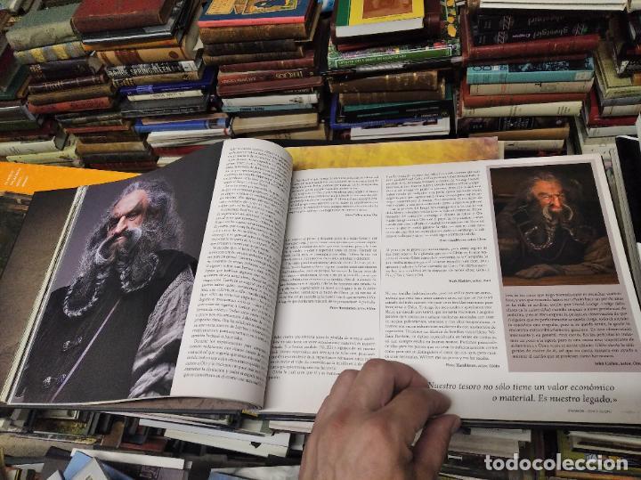 Libros de segunda mano: COLECCIÓN COMPLETA EL HOBBIT . CRÓNICAS . 6 TOMOS + MAPS OF TOLKIENS + EL MUNDO DE TOLKIEN - Foto 17 - 210151335