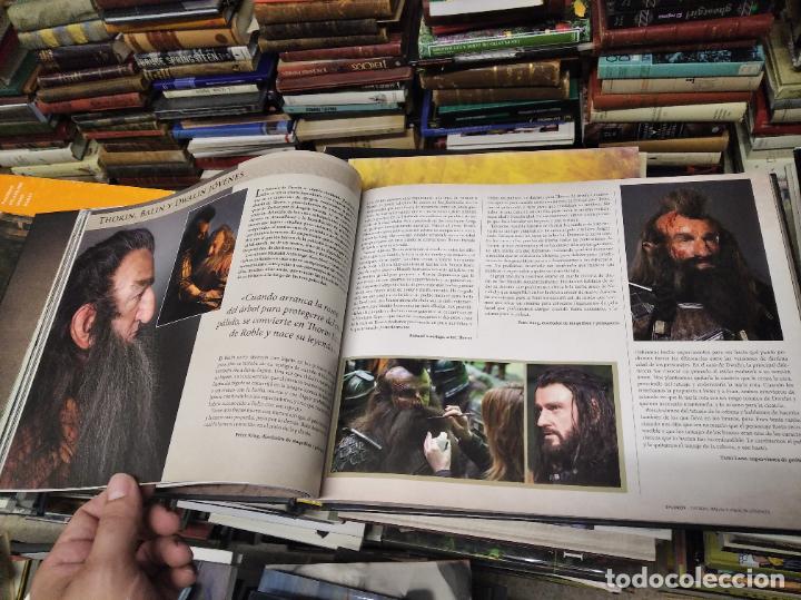 Libros de segunda mano: COLECCIÓN COMPLETA EL HOBBIT . CRÓNICAS . 6 TOMOS + MAPS OF TOLKIENS + EL MUNDO DE TOLKIEN - Foto 19 - 210151335