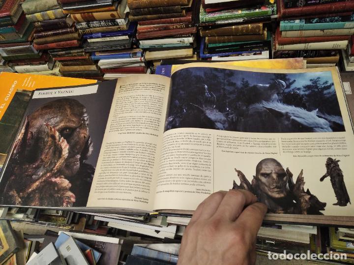 Libros de segunda mano: COLECCIÓN COMPLETA EL HOBBIT . CRÓNICAS . 6 TOMOS + MAPS OF TOLKIENS + EL MUNDO DE TOLKIEN - Foto 28 - 210151335