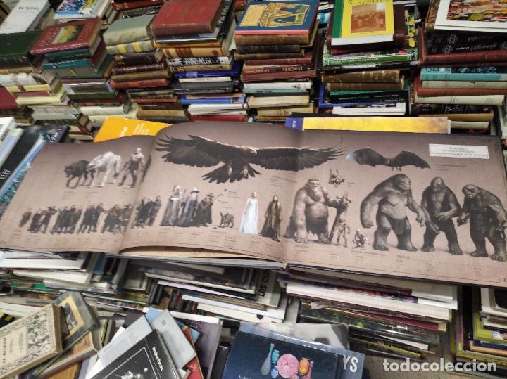 Libros de segunda mano: COLECCIÓN COMPLETA EL HOBBIT . CRÓNICAS . 6 TOMOS + MAPS OF TOLKIENS + EL MUNDO DE TOLKIEN - Foto 30 - 210151335
