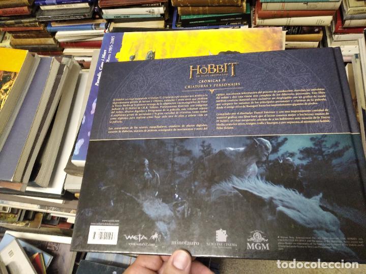 Libros de segunda mano: COLECCIÓN COMPLETA EL HOBBIT . CRÓNICAS . 6 TOMOS + MAPS OF TOLKIENS + EL MUNDO DE TOLKIEN - Foto 31 - 210151335