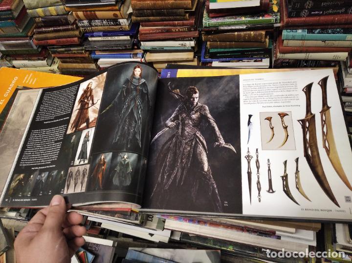 Libros de segunda mano: COLECCIÓN COMPLETA EL HOBBIT . CRÓNICAS . 6 TOMOS + MAPS OF TOLKIENS + EL MUNDO DE TOLKIEN - Foto 44 - 210151335