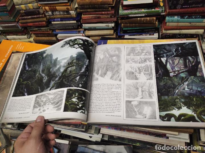Libros de segunda mano: COLECCIÓN COMPLETA EL HOBBIT . CRÓNICAS . 6 TOMOS + MAPS OF TOLKIENS + EL MUNDO DE TOLKIEN - Foto 48 - 210151335