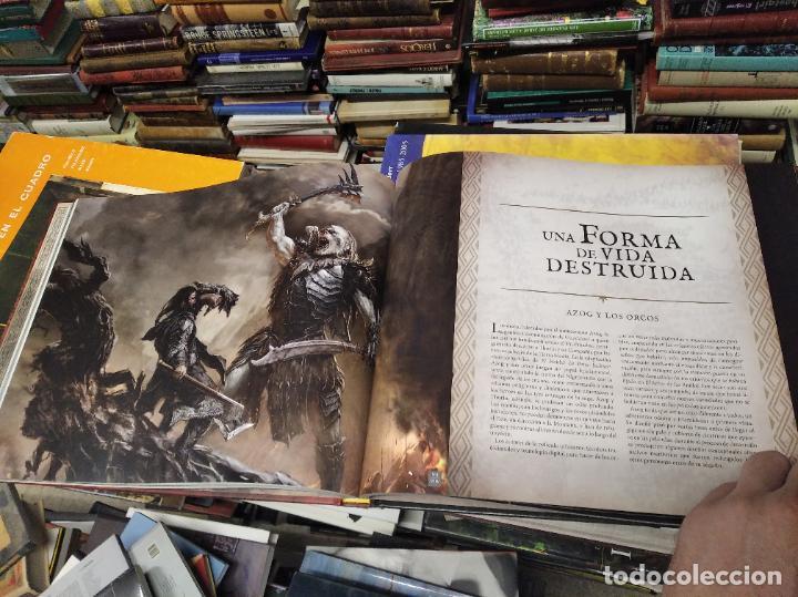 Libros de segunda mano: COLECCIÓN COMPLETA EL HOBBIT . CRÓNICAS . 6 TOMOS + MAPS OF TOLKIENS + EL MUNDO DE TOLKIEN - Foto 52 - 210151335