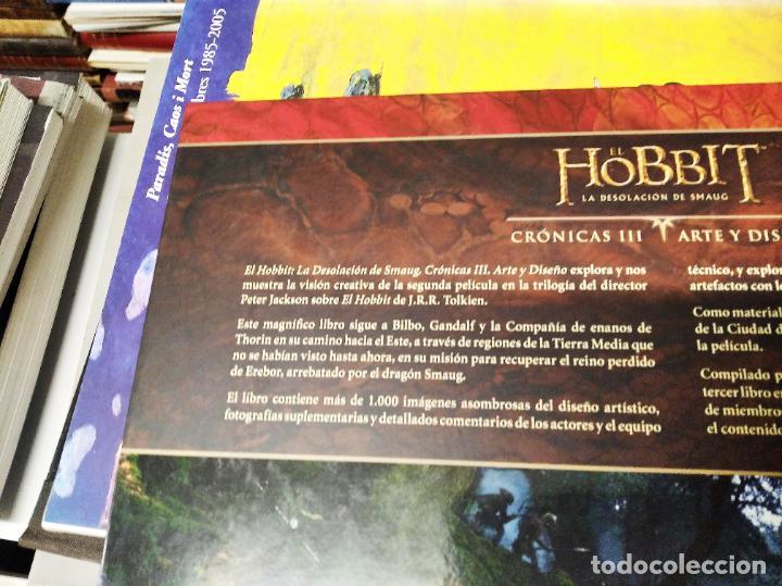 Libros de segunda mano: COLECCIÓN COMPLETA EL HOBBIT . CRÓNICAS . 6 TOMOS + MAPS OF TOLKIENS + EL MUNDO DE TOLKIEN - Foto 60 - 210151335