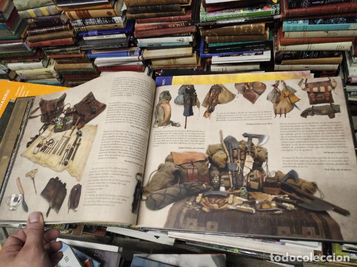 Libros de segunda mano: COLECCIÓN COMPLETA EL HOBBIT . CRÓNICAS . 6 TOMOS + MAPS OF TOLKIENS + EL MUNDO DE TOLKIEN - Foto 72 - 210151335
