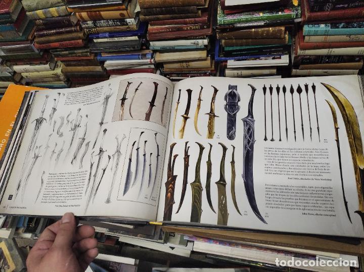 Libros de segunda mano: COLECCIÓN COMPLETA EL HOBBIT . CRÓNICAS . 6 TOMOS + MAPS OF TOLKIENS + EL MUNDO DE TOLKIEN - Foto 102 - 210151335