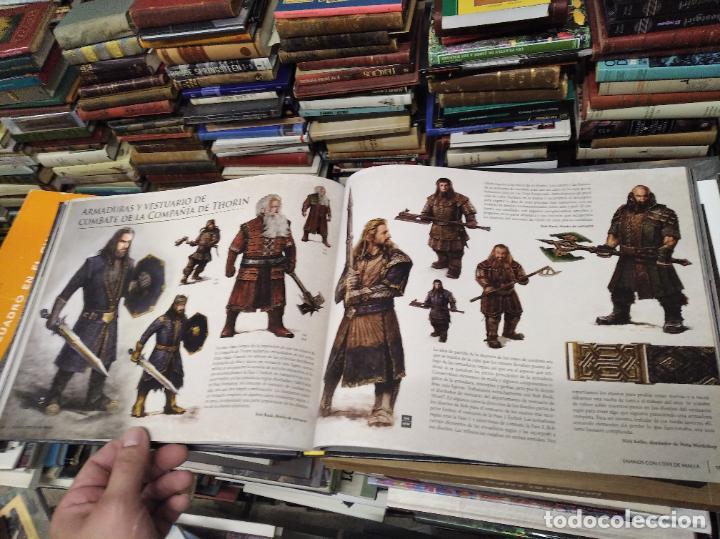 Libros de segunda mano: COLECCIÓN COMPLETA EL HOBBIT . CRÓNICAS . 6 TOMOS + MAPS OF TOLKIENS + EL MUNDO DE TOLKIEN - Foto 105 - 210151335