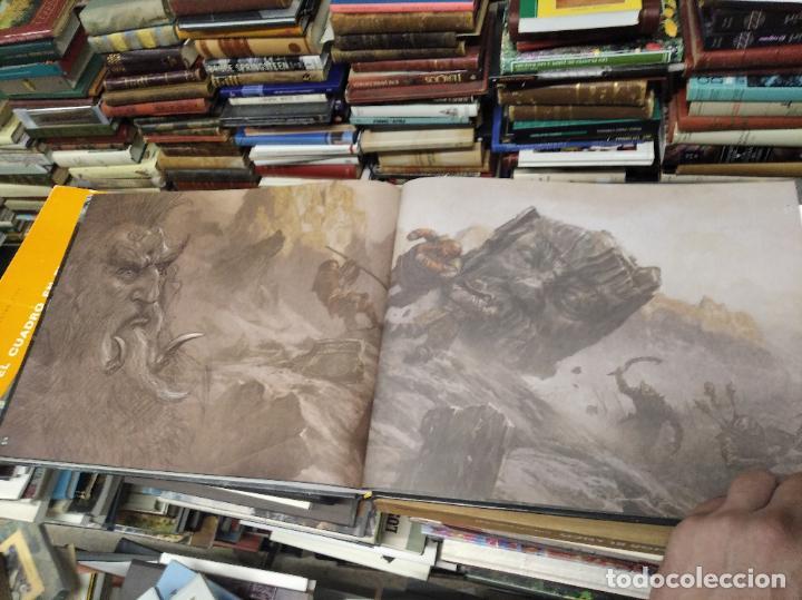 Libros de segunda mano: COLECCIÓN COMPLETA EL HOBBIT . CRÓNICAS . 6 TOMOS + MAPS OF TOLKIENS + EL MUNDO DE TOLKIEN - Foto 110 - 210151335