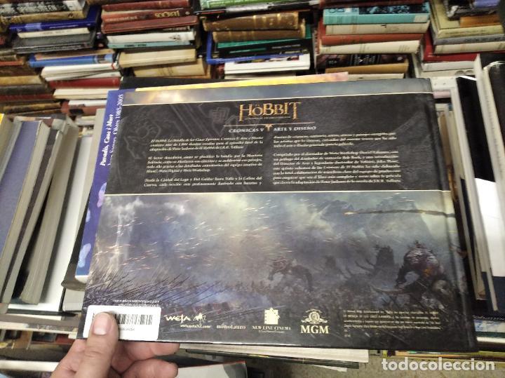 Libros de segunda mano: COLECCIÓN COMPLETA EL HOBBIT . CRÓNICAS . 6 TOMOS + MAPS OF TOLKIENS + EL MUNDO DE TOLKIEN - Foto 112 - 210151335